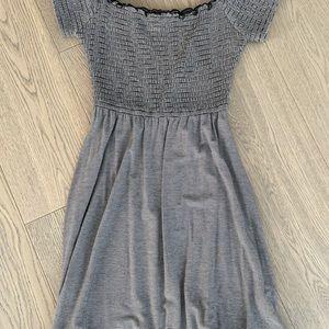 Hollister smocked dress